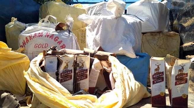 Assam: Foreign liquor seized in Hailakandi
