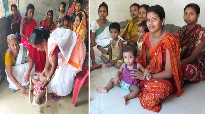 Assam: POSHAN Maah kicks off in Hailakandi district