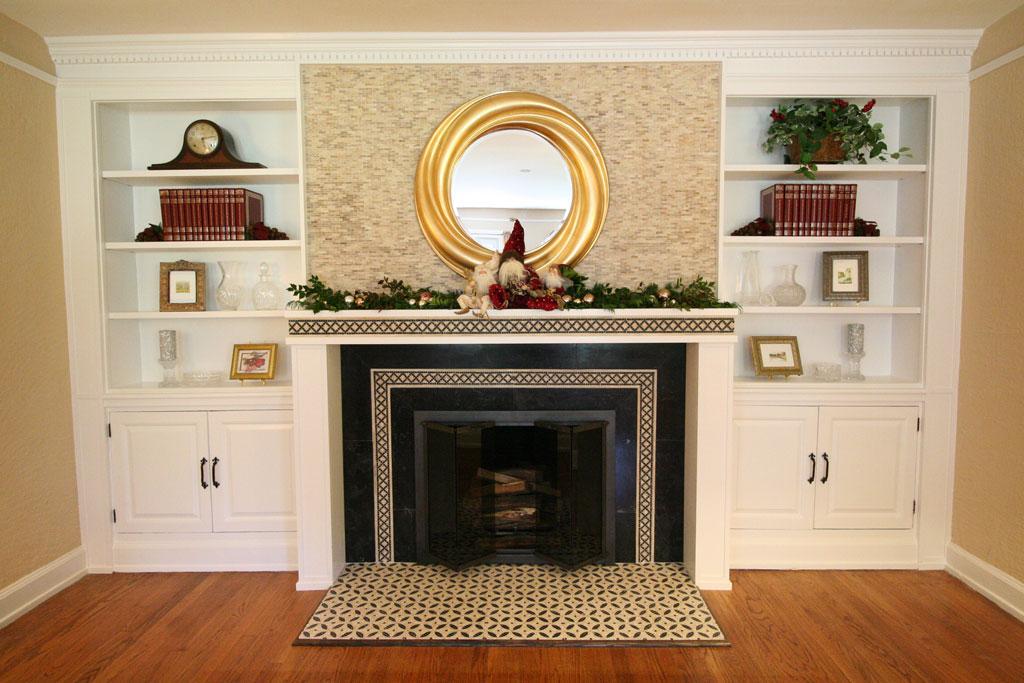 Fireplace Remodel  Northeastjbconstruction