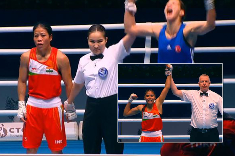 Disappointment for Mary Kom at World Boxing Championships; Manju Rani assures India of silver