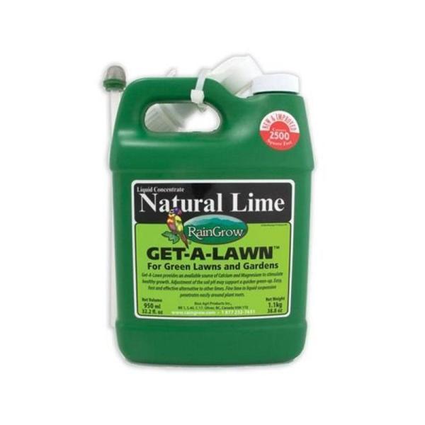 Natural Lime Raingrow -lawn Liquid 32 Oz