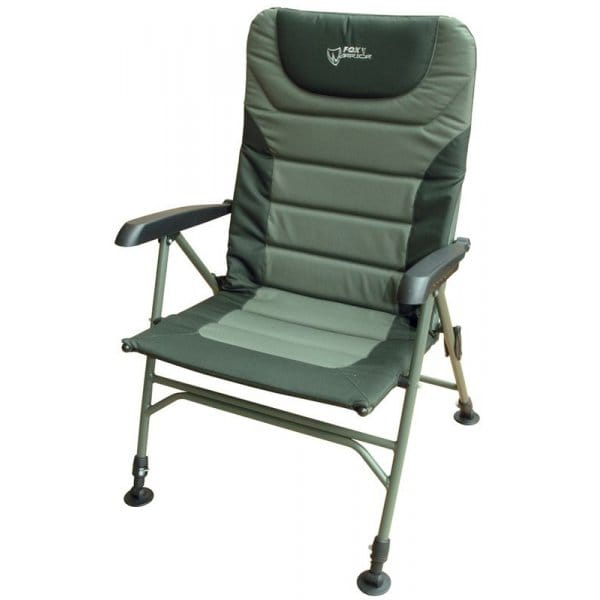 chub chair accessories drafting fox warrior arm chair, xl   north east tackle supplies