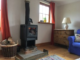 The Old Dairy woodburner