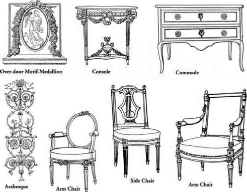 Neoclassic Period And 19th Century Revival Styles