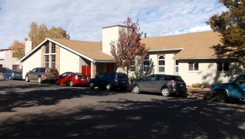 St. John's Episcopal Lutheran Church; Corner of Grant and Second Street.
