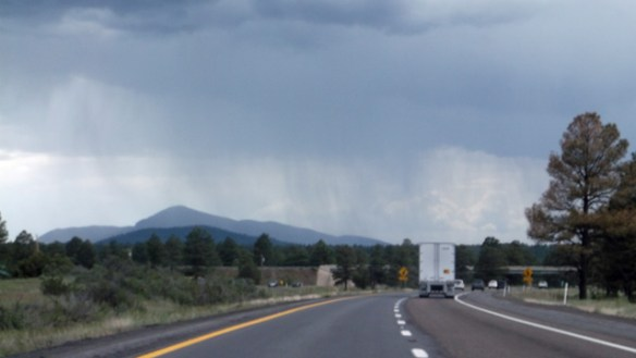 Bill Williams mountain from I-40.