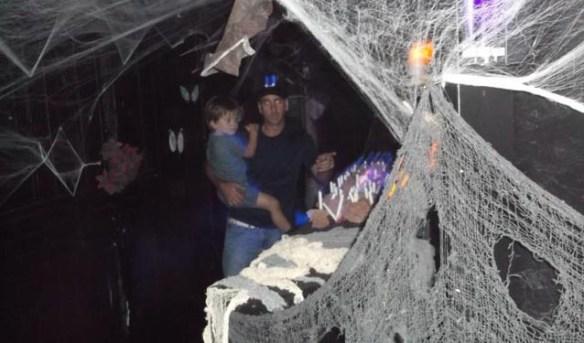 Folks enjoy a scare at Scarizona.