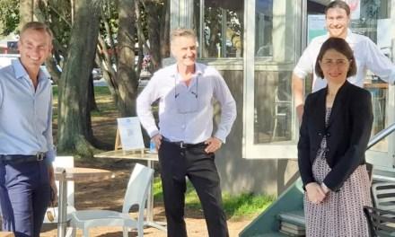 Premier visits Pittwater