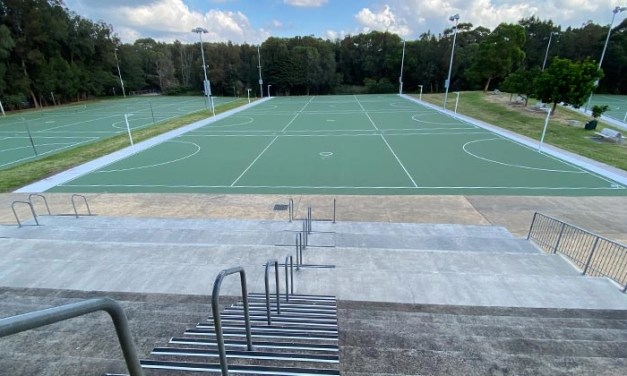 Netball courts open