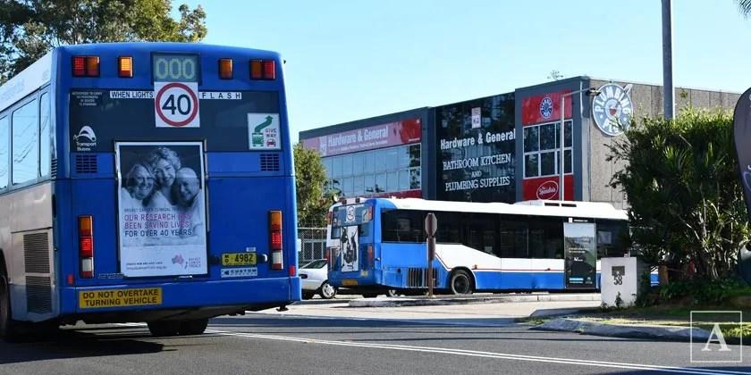 Bus bungle backdown