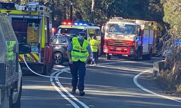 Woman dies after crash