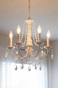 DIY Crystal Chandelier (easy tutorial)