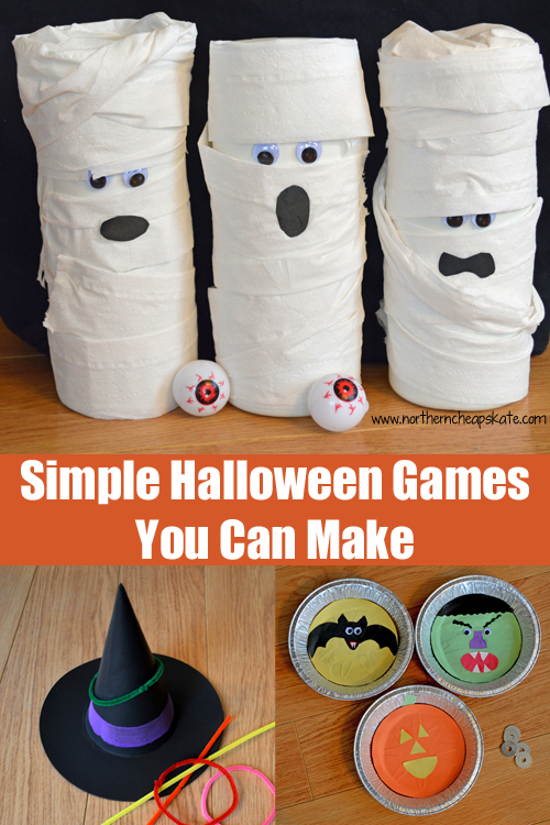Simple Halloween Games You Can Make