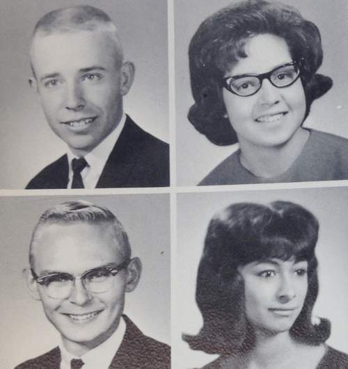 Senior Photos from the Poudre High School Class of 1965