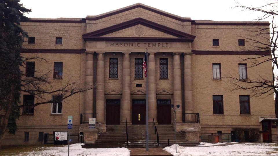 A Tour of the  Masonic Temple in Fort Collins