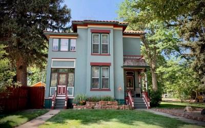 The H. C. Howard House at 145 N. Loomis