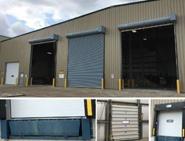 Waste Management Industrial Door Solution
