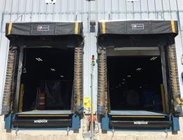 Telescoping-Lip Dock Levelers at Pepsi