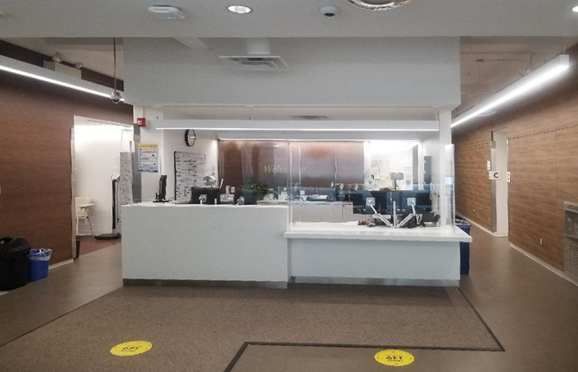 Local Health Care Facility – Plexiglass Barrier
