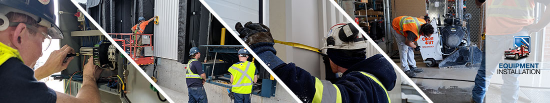 Commercial and industrial equipment installation done by professionals
