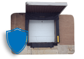 building loading dock protected
