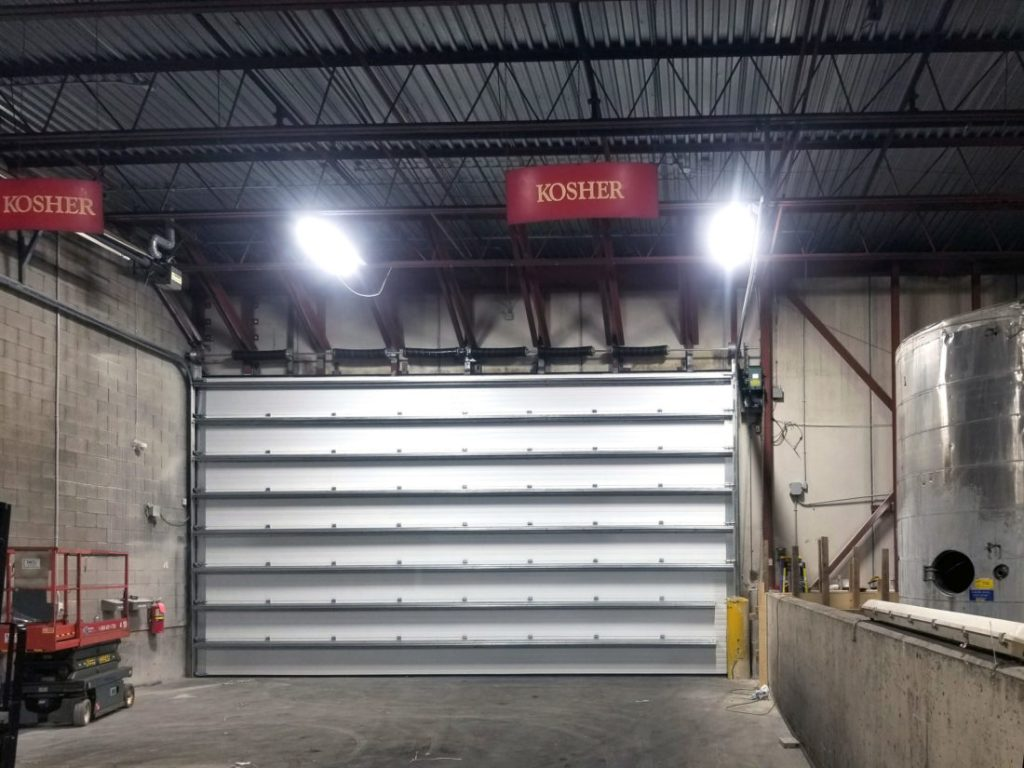 Hubberts Industries – Extra Large Steel Overhead Door