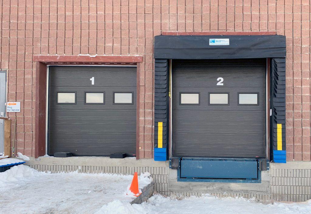 Orangeville Food Bank – New Door and Loading Dock Positions