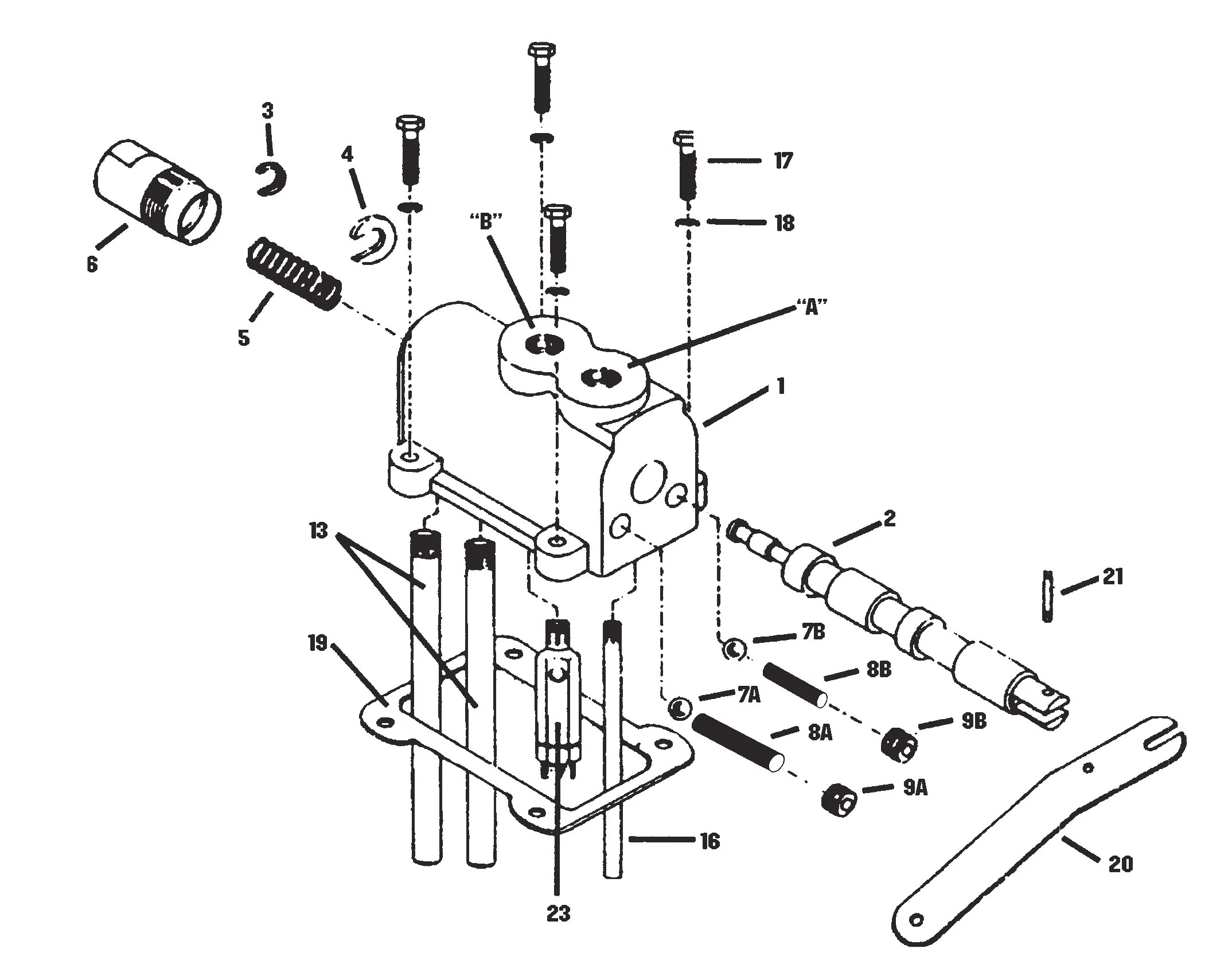 35 Log Splitter Detent Valve Diagram