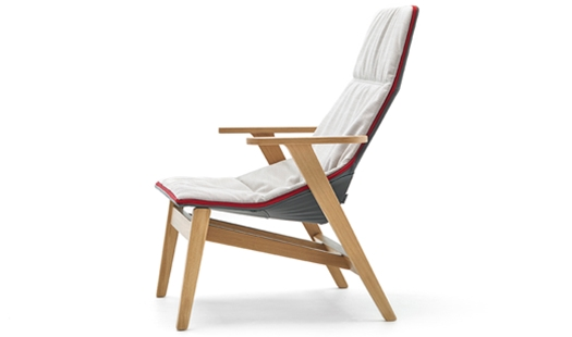 Viccarbe  Ace High Lounge Chair by JeanMarie Massaud