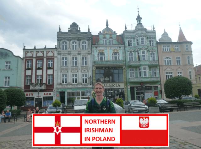Northern Irishman in Tczew