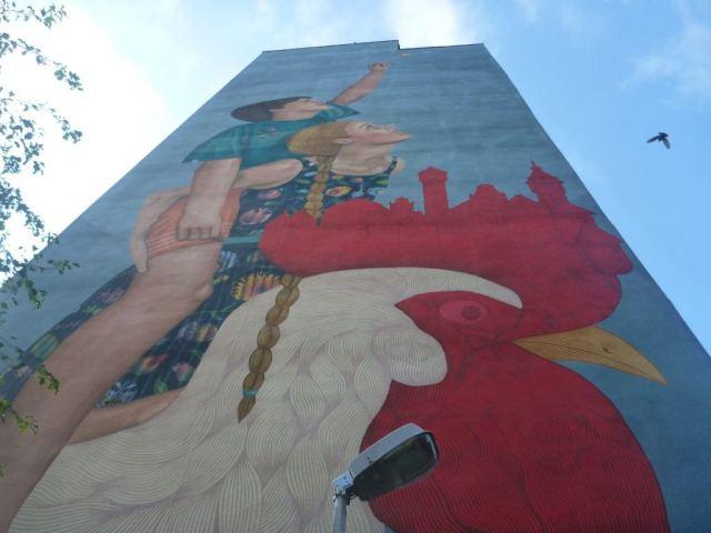 Amazing Murals of Zaspa, Gdańsk