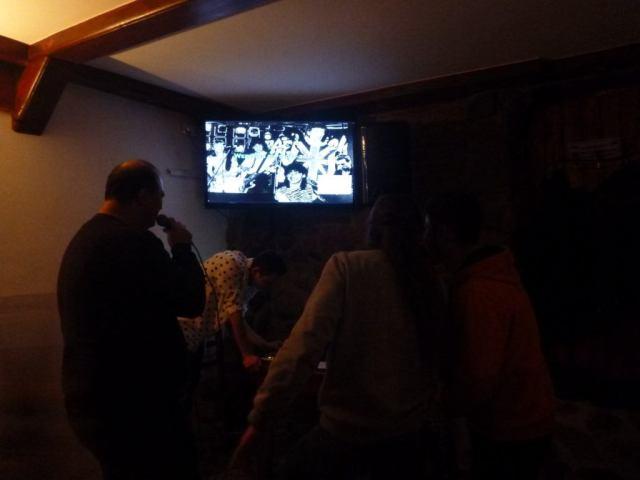 Karaoke at Przystan Warminski , Biskupiec