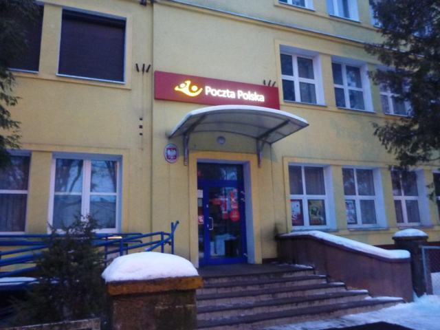 Post office in Biskupiec