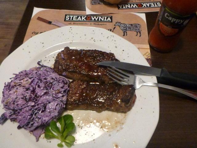 Smaczne Środy: Polish Sirloin Steak at Steakownia, Biskupiec