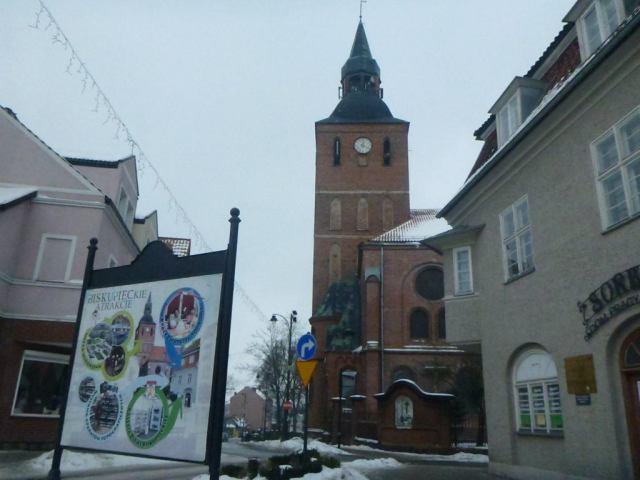 View of the Church from Sorboma Dom Pracy Twórczej