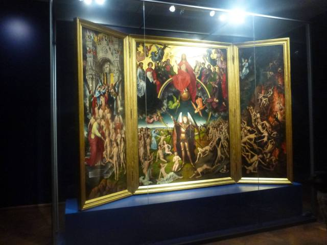 Dziwaczne Odkrycia: My Polish Lesson Studying Sąd Ostateczny at Muzeum Narodowy, Gdańsk