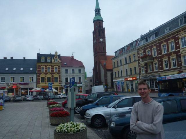 Ola Mueller lied to her friend Jonny Blair when he toured her town Starogard Gdanski tourist
