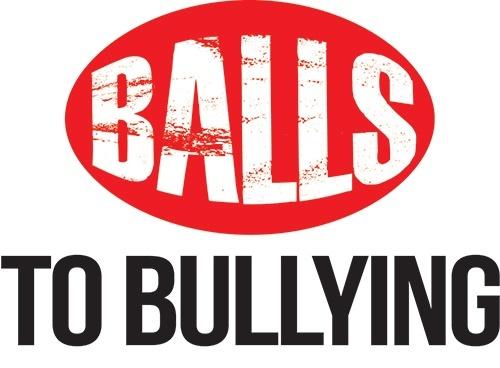 Balls to Bullying logo