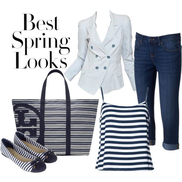 Striped Spring Look