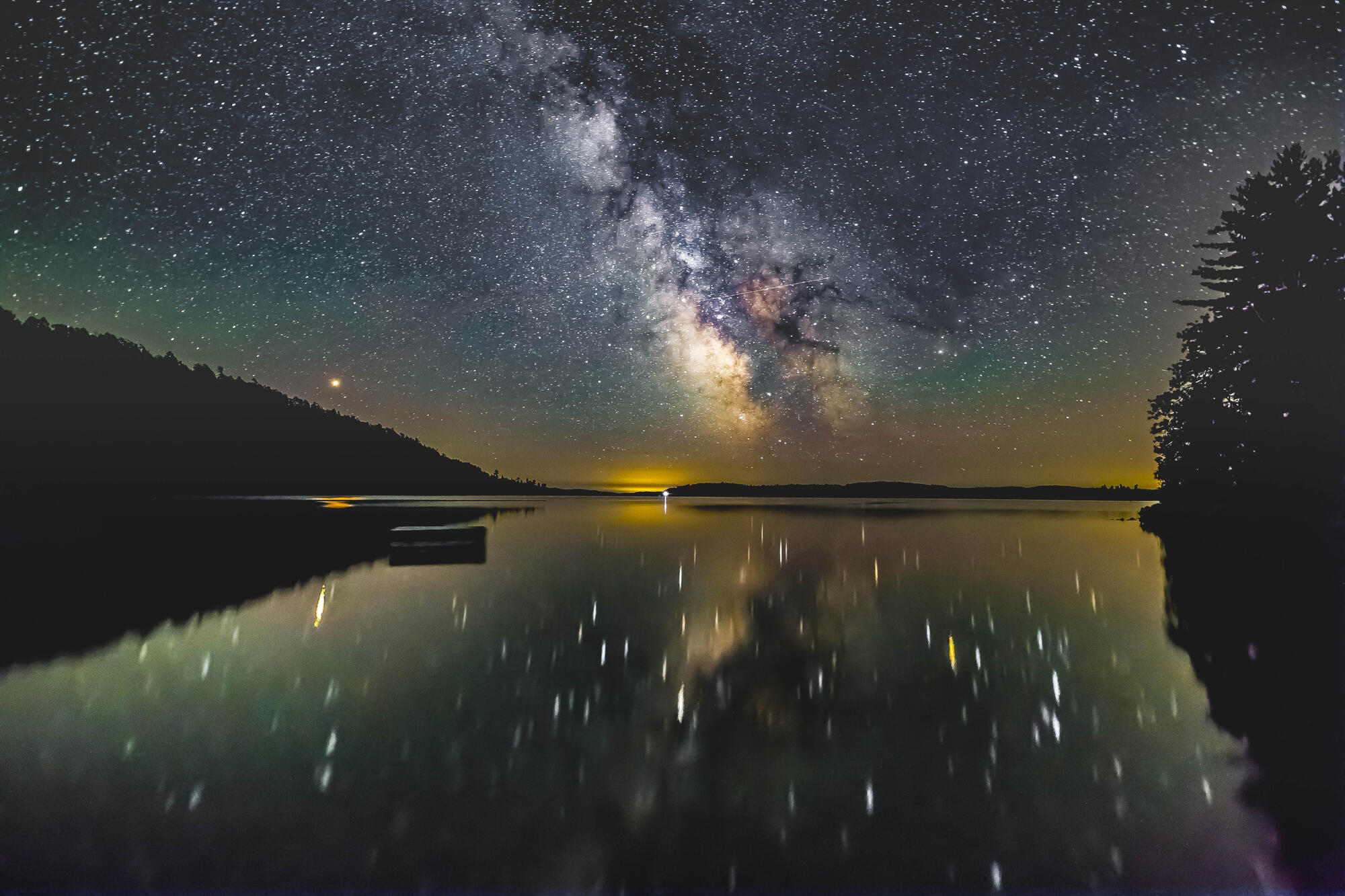 Fall Mountain Lake Wallpaper Temagami Astrophotographer Takes Amazing Shots Of The