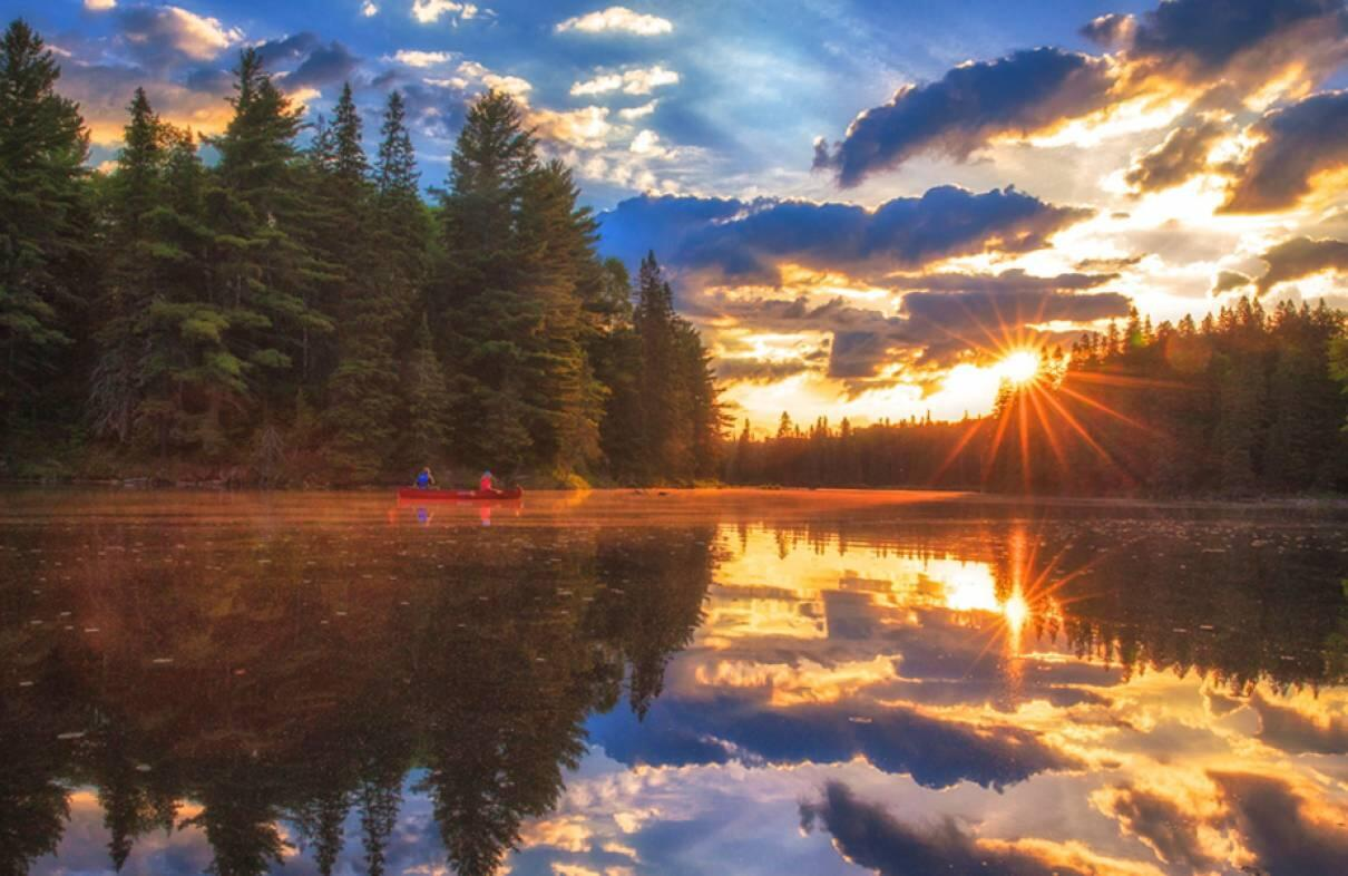 Images Of Fall Season Wallpaper Getaway Classic 3 Day Algonquin Park Canoe Trip