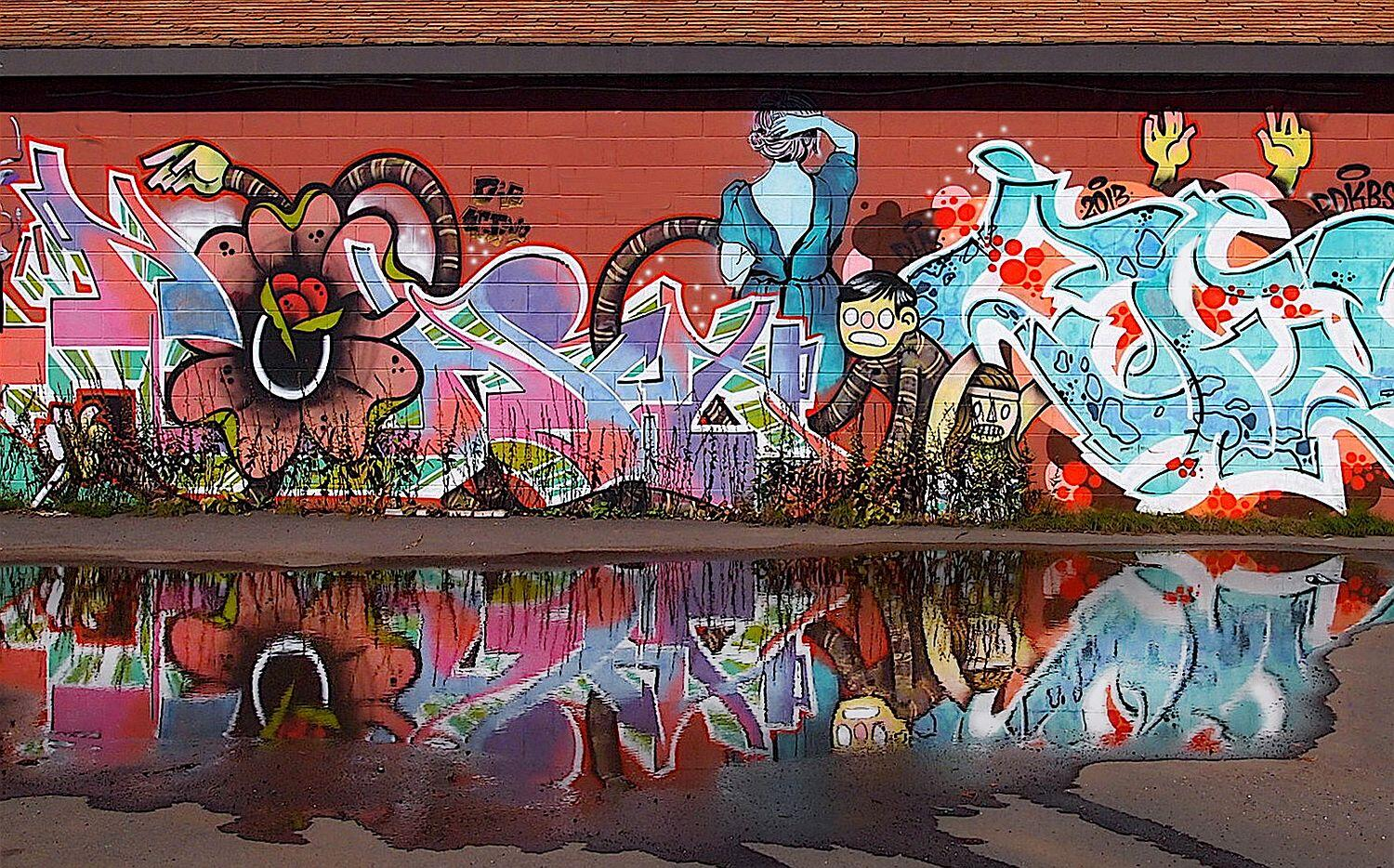 Murals Graffiti Art Tour Thunder Bay Northern Ontario Travel