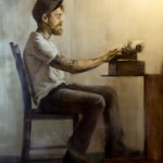 Portrait of Jack by Christopher Clements, Oil on Canvas