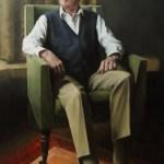 Portrait of Thomas Acton-Scott by Christopher Clements