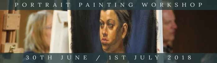 Northern Realist Portrait Painting Workshop, June 2018, link to webpage