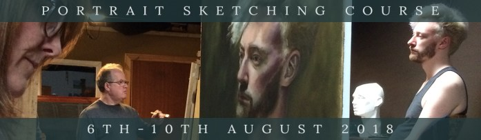 Northern Realist summer portrait sketching workshop 2018