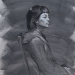 Portrait Study of Kelly By Christopher Clements
