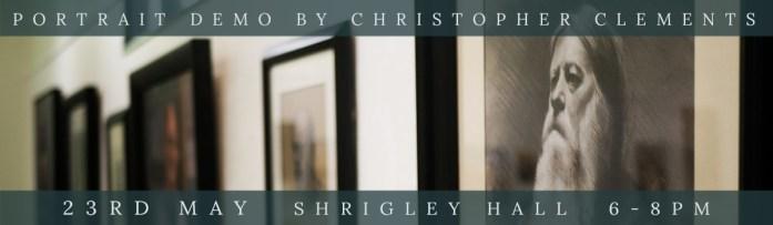 Link to Christopher Clements Portrait Demo at Bollington Festival