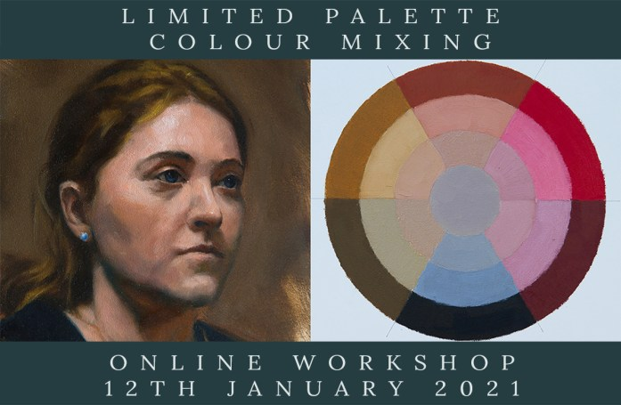 Link to Northern Realist Limited Palette Colour Mixing Workshop, January 2021 webpage
