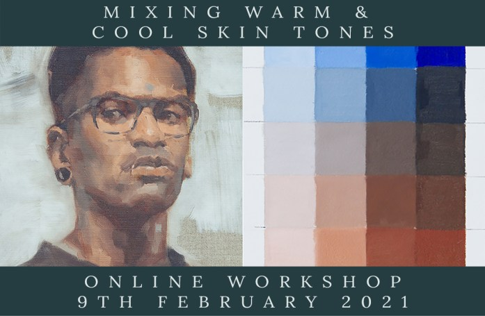 Link to Mixing Warm & Cool Skin Tones Workshop webpage